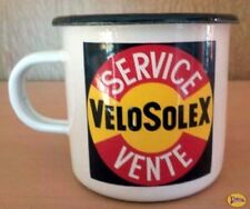 Tasse - Chope - Mug Emaile Tole Velosolex Service Vente - Solex