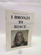 Foti, Nicosia: I Bronzi di Riace, Alinari 1981, Scultura, Arte, Illustrazioni