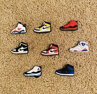 8PCS Shoe AJ Air Jordan Jibbitz Charms for Crocs Set