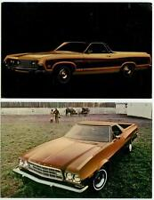 1970 and 1973 Ford Ranchero Pickup Car ad pcs