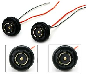Universal Pigtail Wire Female Socket 1156 U Two Harness Rear Turn Signal Fit