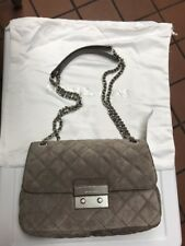 Michael Kors Cinder Bag Sloan Quilited LG Chain SHLDR Leather 30F6ASLL3S NWT