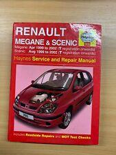"""2005 """"RENAULT MEGANE & SCENIC"""" HAYNES SERVICE & REPAIR MANUAL HARDBACK BOOK"""