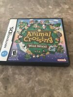 Animal Crossing: Wild World (Nintendo DS, 2005) Case And Manual