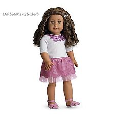 """American Girl MY AG SPARKLE SEQUIN OUTFIT for 18"""" Dolls Retired Clothes NEW"""
