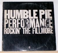 HUMBLE PIE - PERFORMANCE ROCKIN' THE FILMORE - 1971 LP Record Albom A&M SP-3506
