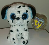 """Ty Beanie Boos - FETCH the Dalmatian Dog 6"""" (2013 Gen Tags) MINT with MINT TAGS"""