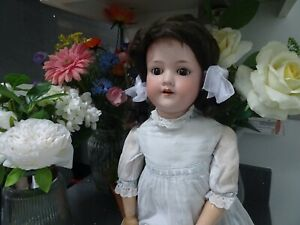 Antique  beautiful  Armand Marseille German doll circa 1910s. 60cm  390 A 9 M