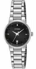 New Citizen Women's Dress Stainless Steel Bracelet Watch EU6010-53E