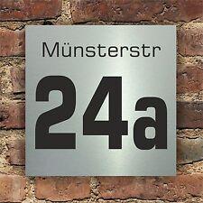 Hausnummer Hausnummernschild Schild Nummer Türschild Türklingel Nummernschild 62