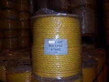 """1"""" x 600' Yellow Poly Rope"""