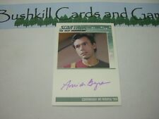 Star Trek TNG Heroes & Villains - Amick Byram as Cmdr Ian Andrew Troi Autograph