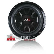 POWERBASS S-10T Shallow Mount Car Audio Subwoofer S10T SVC 4-Ohm 550W Sub New