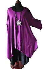 designer-look superposé une tunique longue ligne a couleur baie taille 5 58,60,