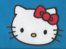 Hello Kitty Iron On Embroidered Hat Jacket Hoodie Backpack Patch Crest