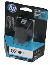 HP Genuine OEM Photosmart 02 BLACK Ink Cartridge C8721WN - Dated 01-2017