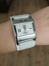 Axcent Of Scandinavia Pixy Women's Wristwatch White Genuine Leather Band