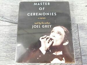 Master of Ceremonies Audiobook By Joel Grey 8 CDs Read By Author 2016