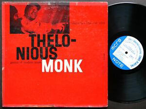 THELONIOUS MONK Genius Of Modern Music Vol.2 LP BLUE NOTE 1511 MONO Art Blakey