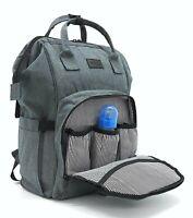 Mini Me Diaper Bag Backpack for Mom or Dad, Multifunctional, Stroller Straps