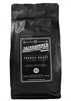 Jackhammer French Roast Organic Coffee, Ground 1 LB