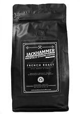 Jackhammer French Roast Organic Coffee, Ground 1 LB - Free Shipping!