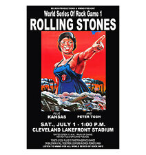 Rolling Stones 1978 Concert Poster
