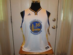 New Kevin Durant # 35 Golden State Warriors Youth Sizes White Swingman Jersey