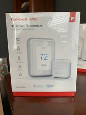 Honeywell Home T9 WIFI Smart Thermostat with 1 SMART ROOM SENSOR. Factory Sealed