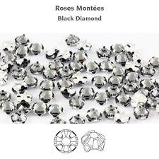 Genuine SWAROVSKI Rose Montees Crystals Prong Set Sew On Craft * Many Colors