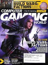 Very Good Computer Gaming world 2005 2006 MAGAZINE Lot of 9