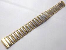 bracciale orologi acciaio bicolore chiusura deplo a scomparsa ansa dritta 16 mm