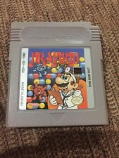 Dr Mario For NITENDO Game Boy