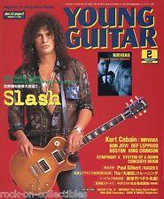 Young Guitar Magazine February 2003 Japan Slash Nirvana Bon Jovi