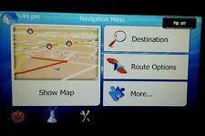 Australia NZ 2017. Q2 WinCe Map Car 2Din Radio GPS After Market + Software DVD