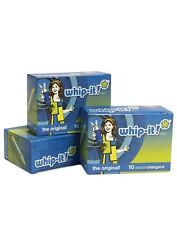 N2O 8 GRAM WHIP IT WHIPPED CREAM CHARGERS -  360 units - 1 Case