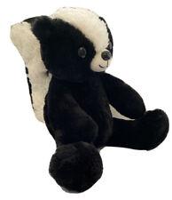 Build A Bear SKUNK Black and White Plush Teddy STUFFED BAB