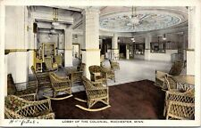 Rochester Mn~Colonial Hospital Lobby~1 Test Brings Another~Demolished 1985~1920