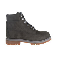 Timberland Premium Waterproof Boot Big Kids' Shoes Dark Grey TB0A1VD7