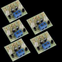 5Pcs Simple Flash Circuit Electronic Production Electronic Suite DIY Kits
