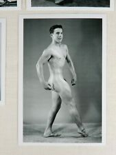 Western Photography Guild, Male Nude Set, Various Posing Strap Era Models #5