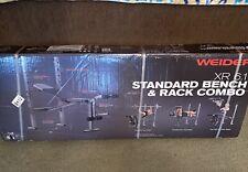 Weider XR 6.1 Weight Bench With Leg Developer Home Gym
