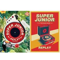 SUPER JUNIOR Replay 8th Album Repackage Album / Special Edition Booklet+Etc KPOP