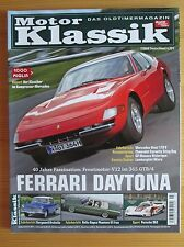 Motor Klassik 7/08: Ferrari Daytona, Mercedes 170, Chevrolet Corvette, Borgward