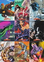2008 Marvel Masterpieces Series 2 Trading Cards COMPLETE BASE SET, #1-90
