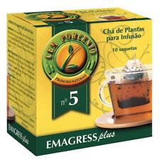 Cem Porcento ~ EMAGRESS PLUS ~ Mixture of plants For infusion *280 Sachets