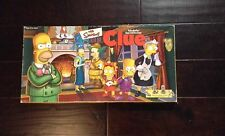 2000 The Simpsons Fox Clue Board Game Parker Bros