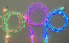 DUAL COLOR LED Light-up USB Charger Glow Cable for iPhone 8 7 Plus 7s 6 6s 5s X