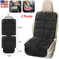 2Pcs Child Infant Car Seat Protector Carseat Protect Non-slip Backing Universal