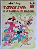 topolino e la gallinella saggiawalt disneyMondadoriimparo leggere bambini 91